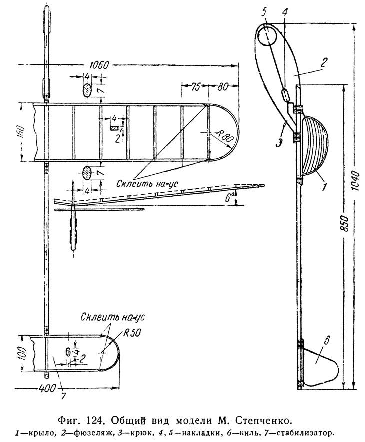 Фиг. 124. Общий вид модели М. Степченко