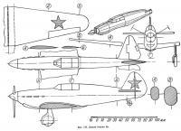 Фиг. 176. Детали модели самолета Як
