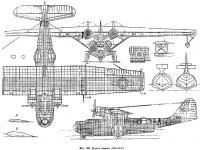 Фиг. 189. Детали модели летающей лодки Каталина