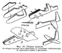 Фиг. 34. Сборка модели