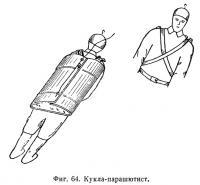 Фиг. 64. Кукла-парашютист