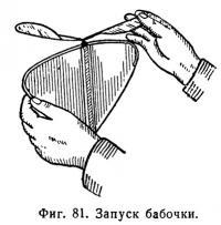Фиг. 81. Запуск бабочки