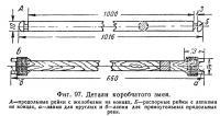 Фиг. 97. Детали коробчатого змея