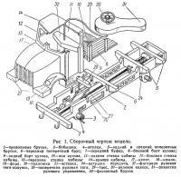 Рис. 1. Сборочный чертеж модели