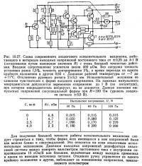 Рис. 10.27. Схема современного аналогового исполнительного механизма