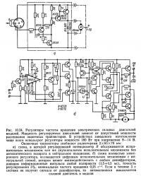 Рис. 10.34. Регуляторы частоты вращения электрических силовых двигателей моделей