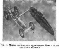 Рис. 11. Модель швейцарского автомоделиста Цада