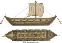 Рис. 125. Общий вид запорожской чайки