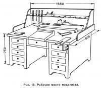 Рис. 13. Рабочее место моделиста