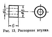 Рис. 13. Распорная втулка