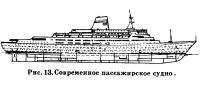 Рис. 13. Современное пассажирское судно