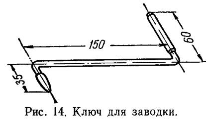 Рис. 14. Ключ для заводки