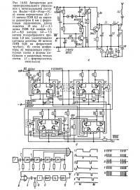 Рис. 14.62. Аппаратура для пропорционального управления с интегральными схемами Reuter—EH—Prop—1C