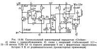 Рис. 14.66. Одноканальный миниатюрный передатчик «Uniton»