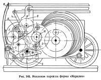 Рис. 148. Механизм паровоза фирмы «Мерклин»