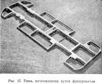 Рис. 15. Рама, изготовленная путем фрезерования