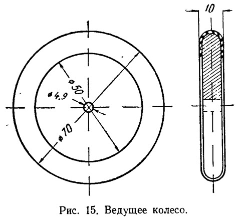 Рис. 15. Ведущее колесо
