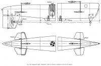 Рис. 159. Подводная лодка «Северянка». Детали носовой и кормовой оконечностей модели