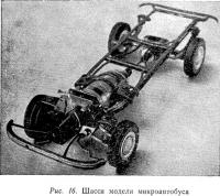 Рис. 16. Шасси модели микроавтобуса