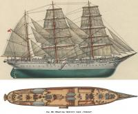 Рис. 160. Общий вид парусного судна «Товарищ»