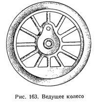Рис. 163. Ведущее колесо