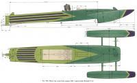 Рис. 190. Общий вид скоростной модели ЛКИ с двигателем 5 см3