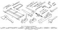Рис. 2. Столярные инструменты