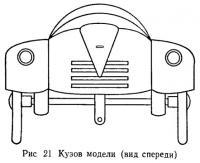 Рис. 21. Кузов модели (вид спереди)
