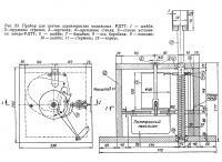 Рис. 23. Прибор для снятия характеристик модельных РДТТ