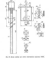 Рис. 24. Детали прибора для снятия характеристик модельных РДТТ