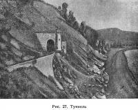 Рис. 27. Туннель