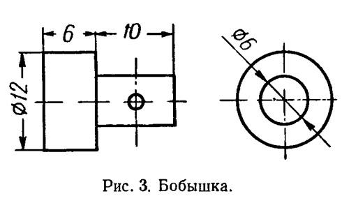 Рис. 3. Бобышка