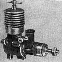 Рис. 3. Общий вид авиамодельного компрессионного двигателя