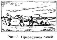 Рис. 3. Прабабушка саней