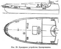 Рис. 39. Буксирное устройство буксировщика