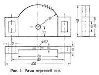 Рис. 4. Рама передней оси