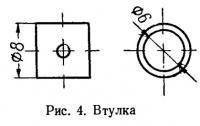 Рис. 4. Втулка