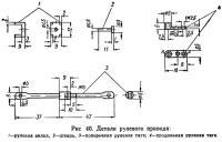 Рис. 40. Детали рулевого привода
