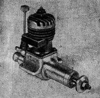 Рис. 46, Общий вид двигателя МБ-09кс (первая категория)