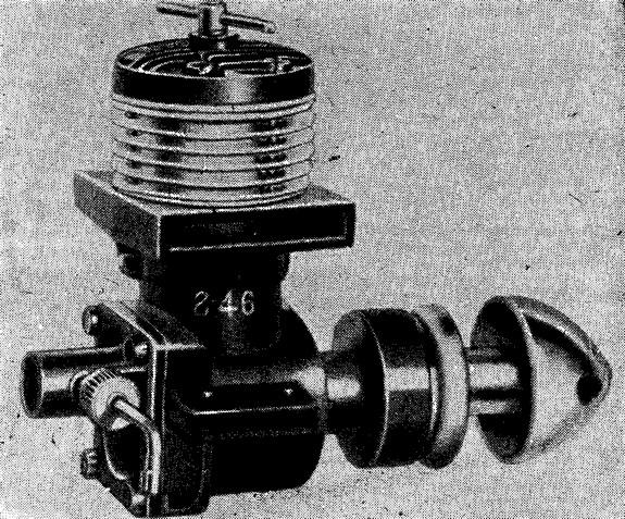 Рис. 50. Двигатель ЕД-2,46 «Рейсер» (первая категория)