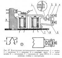 Рис. 57. Конструкция дистанциноного переключателя