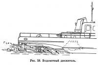 Рис. 58. Водометный движитель