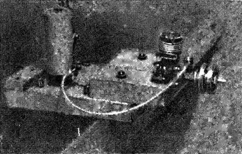 Рис. 6. Стенд для запуска двигателя