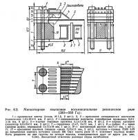 Рис. 6.3. Миниатюрное язычковое восьмиканальное резонансное реле (380—560 Гц)