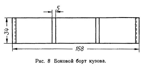 Рис. 8. Боковой борт кузова