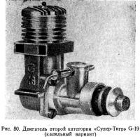 Рис. 80. Двигатель второй категории «Супер-Тигр» G-19