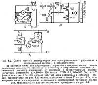 Рис. 8.2. Схемы простых дешифраторов для пропорционального управления в одноканальной системе