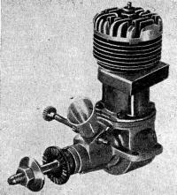 Рис. 88. Двигатель третьей категории МКС-05ф (калильный вариант)