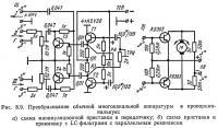 Рис. 8.9. Преобразование обычной многоканальной аппаратуры в пропорциональную