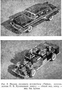Рис. 9. Модель легкового автомобиля «Чайка»